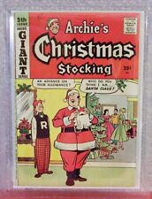 ARCHIE'S CHRISTMAS STOCKING, Graded by MCG- 7.9, 1958, Archie comics