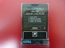 KORG DDC-C02 'VARIATION 1' MEMORY CARD ROM FOR KORG DDD-1 & DDD-5 New Old Stock