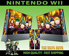 NINTENDO WII STICKER SOUTH PARK STICK OF TRUTH CARMAN BUTTERS SKIN & 2 PAD SKINS