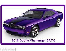 2010 Dodge Challenger SRT-8  Refrigerator, Tool Box  Magnet