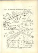 1893 détails de construction pour le transport Exhibits Building dessins