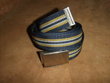 """Nylon Military Style Web Belt 47"""" with Flip Open Buckle with Bottle Opener Back"""