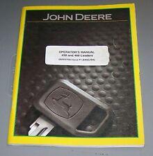 John Deere 430 & 460 Loader Operators Manual OMW47564  F 1   Used   B1