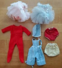 "Lot of Vintage Madame Alexander 8"" Doll Clothes! Pink & Blue Tutus"
