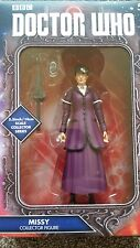DOCTOR DR WHO 12th Dr Missy Figure Purple Outfit, Umbrella & Missy's Device