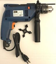 """Vintage 1/2"""" Electric Impact Power Drill Reversible w/ Level & Side Handle"""