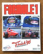 Formule 1 • 1996 • Anjès Verheij • Boek •  Nederlands • GOEDE STAAT
