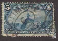 US. 288. 5c. John Charles Fremont. Trans-Mississippi Expo.. Used. 1898