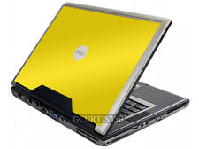 YELLOW Vinyl Lid Skin Cover Decal fits Dell Precision M90 M6300 Laptop
