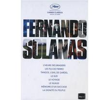 COFFRET FERNANDO SOLANAS : INTEGRALE CINEMA - 9 DVD