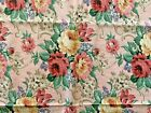 VINTAGE*DAISY KINGDOM*2133*GRANNIES ROSES*COTTON*44' WIDE 1.5  YARDS*PINK