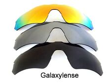 Galaxy Replacement Lenses For Oakley Radar EV Path Black&Grey&Red Polarized 3 PS