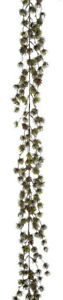 Premier Decorations 145 cm Frosted Green Pine Garland