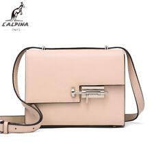 """L""""Alpina Premium Saffiano Leder Tasche Crossbody Umhängetasche Schultertasche"""