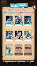 1 x Space Travel Full Set :- Coin Master Cards ( Fastest Delivery )