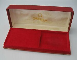 Sought After Genuine Vintage 70's Omega Presentation Watch Box Good Condition