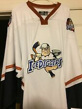 NAHL ALPENA ICEDIGGERS ISSUED AUTHENTIC HOCKEY JERSEY