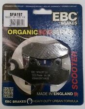 SYM Shark V4R 125 / 150 (19 (2000 to 2002) EBC Organic REAR Brake Pads (SFA197)