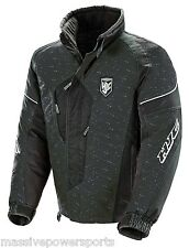 HJC Mens Waterproof Breathable Snowmobile Storm Jacket Black XL Extra Large Snow