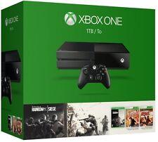 -*BRAND NEW*/- MICROSOFT Xbox One Tom Clancy's Rainbow Six Siege Bundle - Black