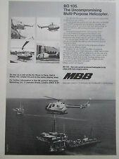 4/75 PUB MBB HELICOPTERE BO 105 OFFSHORE PHI PELOPS NORTH SCOTTISH HELICOPTER AD