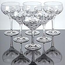 🍾 6 Sektschalen Nachtmann Diamant Kristall Bleikristall Gläser Sektgläser
