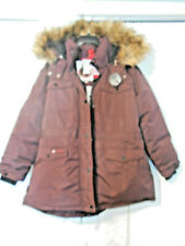 Canada Weather Gear Cranberry Faux Fur Hooded Coat jacket 2X