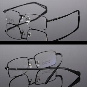 Men's Myopia Glasses -1.0 -1.5 -2.0 to -6.0 Short Sighted Lenses Titanium Frame