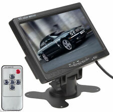 "7"" TFT LCD Color Car Rear View Monitor Stand Screen for Backup Camera Video DVD"