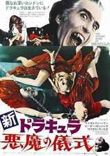 Satánicas Ritos De Dracula Cartel 05 A4 10x8 impresión fotográfica