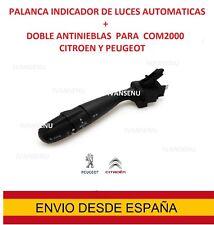 palanca AUTO COM2000 Citroen C4 C5 C2 Peugeot  Mando indicador luces interruptor