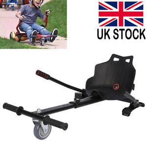 Hoverkart Go Kart HoverGoKart Seat For Self Balancing Hoverboard Scooter Black