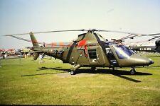 3/965 Agusta A109cm Serial 7368 Register MM812 Italian Army Kodachrome SLIDE