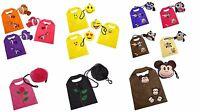 Novelty Shaped Reusable Foldable Shopping Tote Bag