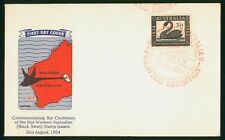 Mayfairstamps Australia FDC 1954 Guthrie Black Swan First Day Cover wwp79793