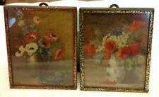 Vintage Metal Frame Floral Print