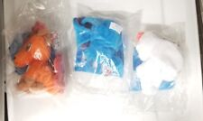 KFC POKEMON PLUSH FIGURES (1998) LOT OF 3 VULPIX SEEL ZUBAT