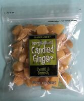 Trader Joe's Uncrystallized Candied Ginger Dried Fruit - Choose 1, 2, 3 or 4 lbs