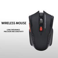 Wireless USB Kabellos Maus Funkmaus 2.4 GHz für PC Mouse Laptop/Notebook Schwar