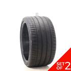 Set Of 2 Used 30530zr20 Michelin Pilot Sport 4 S Zp 99y - 7.532