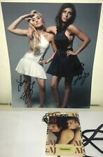 ALY MICHALKA AND AJ MICHALKA SIGNED AUTOGRAPHED 8X10 PHOTO +BONUS PROOF ALY & AJ