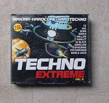 "CD AUDIO MUSIQUE  / VARIOUS ""TECHNO EXTREME VOL. 2"" COFFRET 2XCD COMPILATIONS"