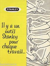 Catalogue STANLEY - Outillage - 1960 - RARE !