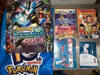 10th Anniversary Pokemon Promotion Bag With Book, Poster & More