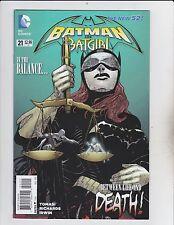 DC Comics! Batman & Bat Girl! The New 52! Issue 21!