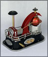 Dampfturbine 'Tornado' Dampfmaschine Handarbeit Echtdampf Generator