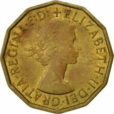 [#466710] Coin, Great Britain, Elizabeth II, 3 Pence, 1967, AU(50-53)