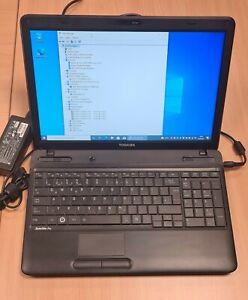 Toshiba Satellite Pro L650-156 - i3 2,13GHz, 15,6 Zoll, SSD 120GB, DVD-RW, 4GB