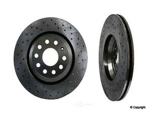 Disc Brake Rotor-Zimmermann Sport Rear WD Express 405 54086 937