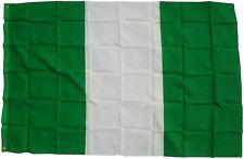 XXL Nigeria Bandera 250 X 150Cm de Tormenta Izar Alzada